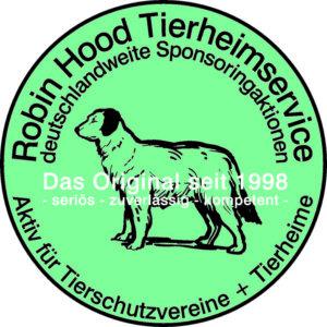 Robin Hood Tierschutz Logo